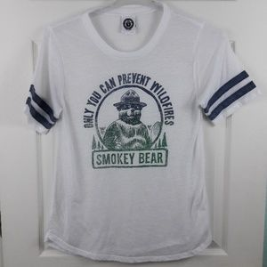Smokey the Bear Burnout Tee Sz. M